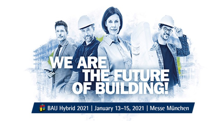 BAU will take place from 13 to 15 January 2021 as a hybrid format