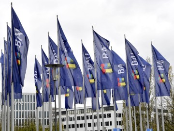 BAU Flags in front of Messe München