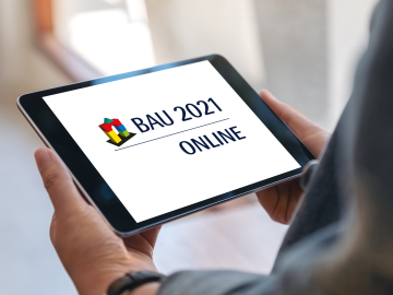 BAU takes place in 2021 as a purely digital format
